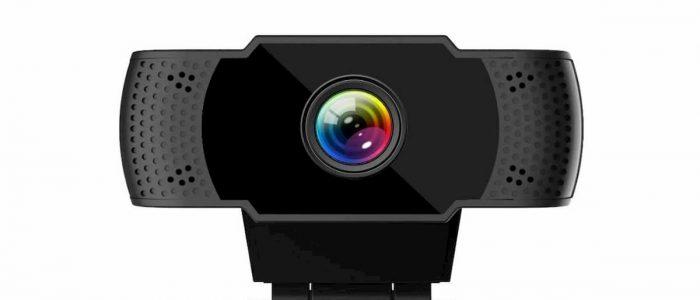 videocámara IEGEEK CAMARA WEB FULL HD 1080p - La webcam con microfono incorporado comprar barato online fullhd tecnologia